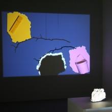 Egill Sæbjörnsson, Various projections, courtesy of Hopstreet Gallery and Egill Studio
