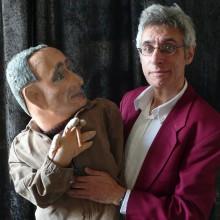 Ian Saville, Brecht on Magic, courtesy of artist