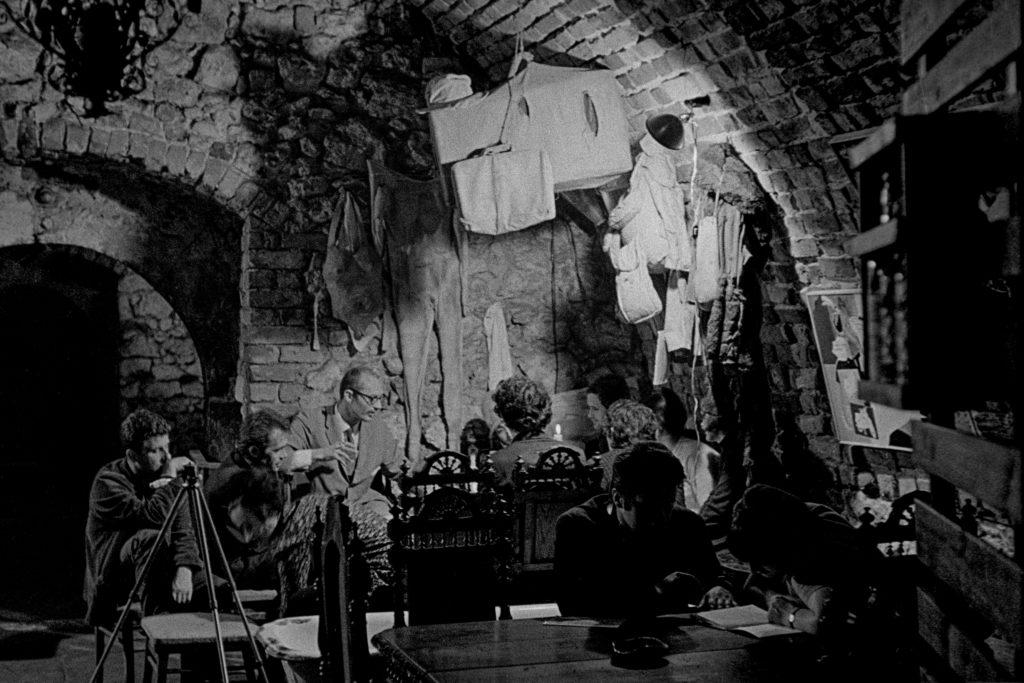 Loża Teatru Cricot 2 w Galerii Krzysztofory, lata 60', fot. Jacek Maria Stokłosa, dzięki uprzejmości artysty